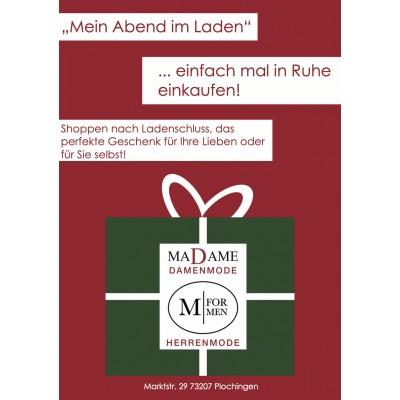 """""""Mein Abend im Laden"""""""